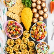 Easter Appetizer Snack Board