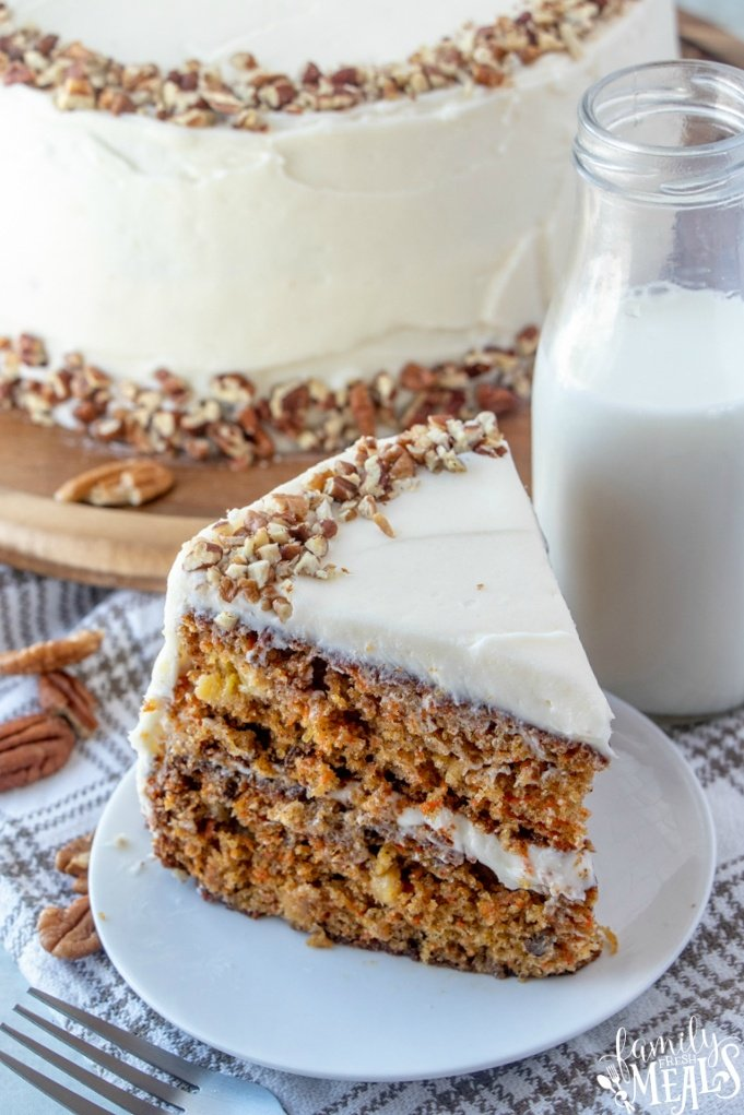 The Best Carrot Cake Recipe from Family Fresh Meals