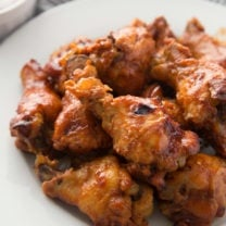Crockpot Root Beer Chicken Wings