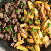 One Pot Steak and Potatoes