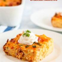 Pimento Cheese Breakfast Casserole