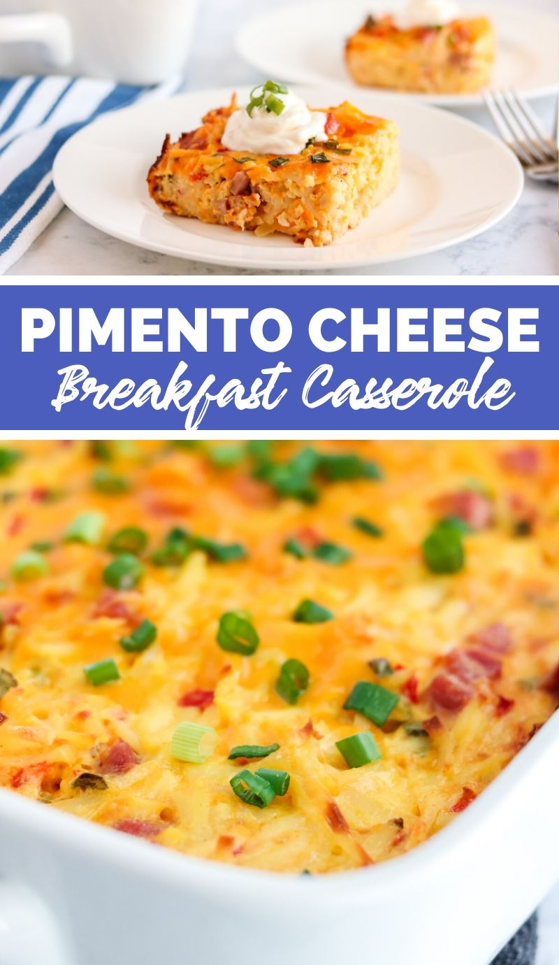 Pimento Cheese Breakfast Casserole via @familyfresh