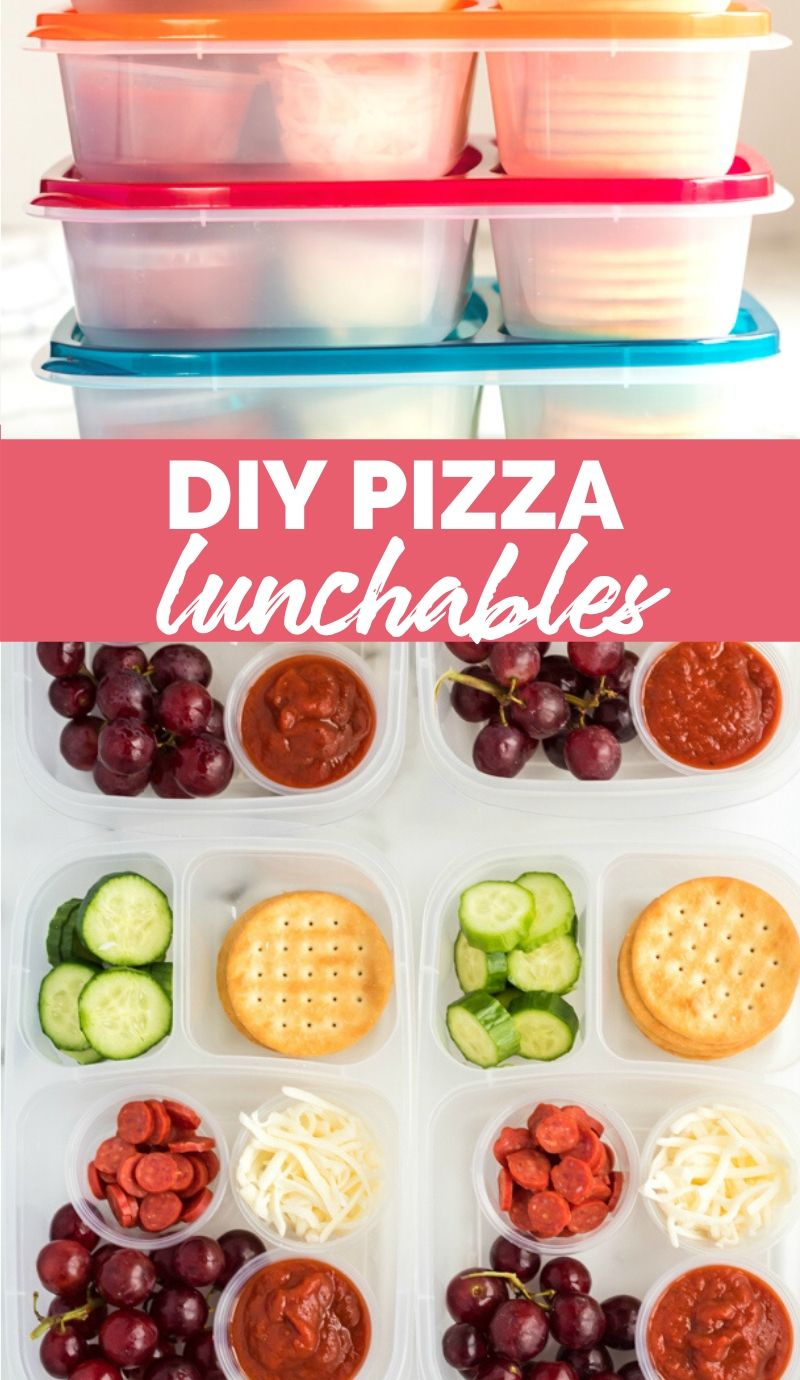 DIY Pizza Lunchable Lunchbox Idea via @familyfresh