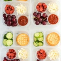 DIY Pizza Lunchable Lunchbox Idea