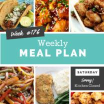 Easy Weekly Meal Plan Week 176