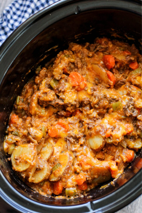 Kitchen Sink Crockpot Casserole recipe in crockpot