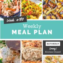 Easy Weekly Meal Plan Week 180
