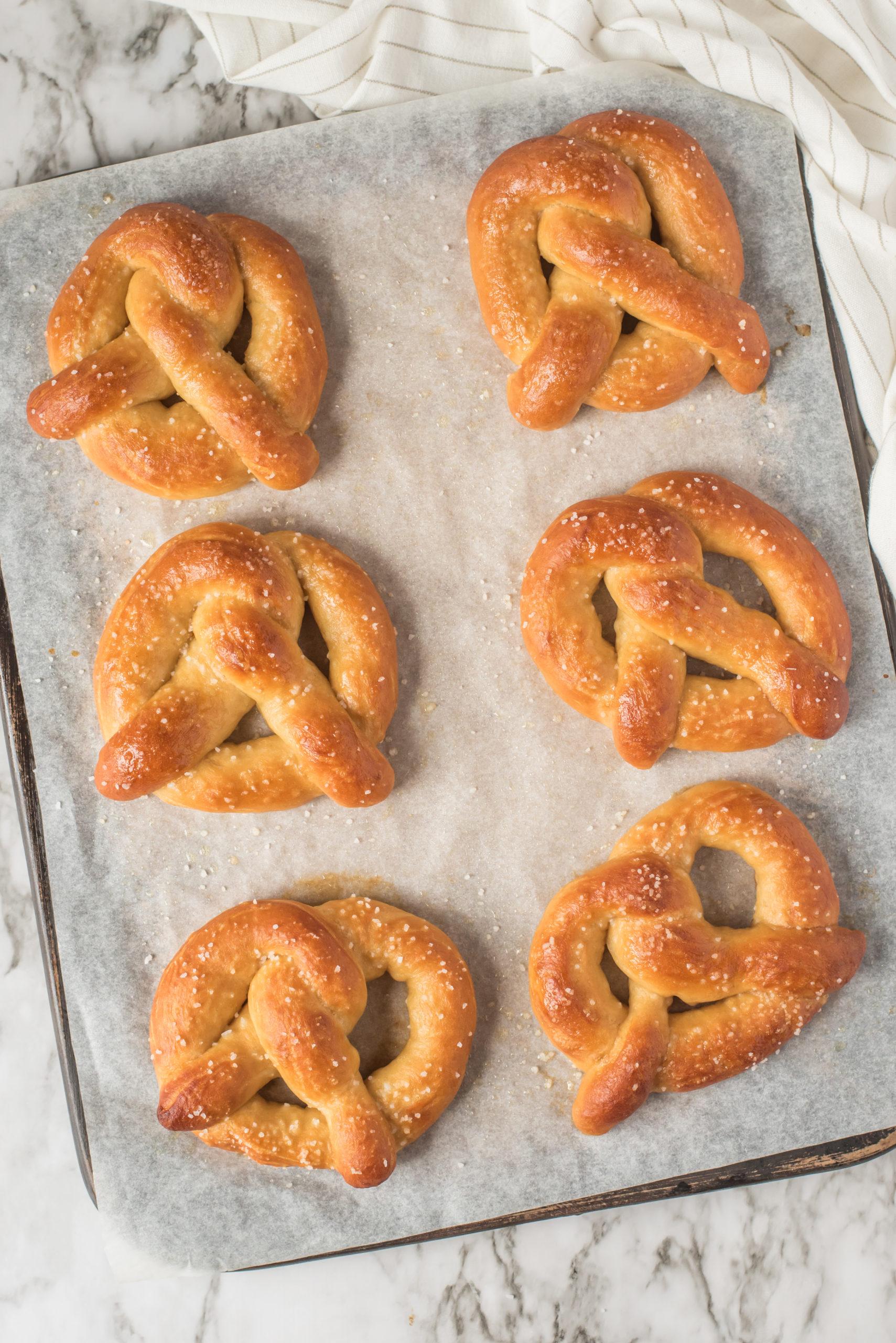 How to Make Homemade Soft Pretzels via @familyfresh