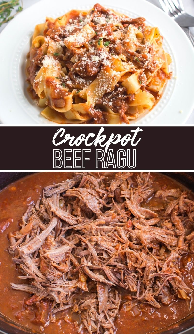 Crockpot Beef Ragu - Family Fresh Meals via @familyfresh