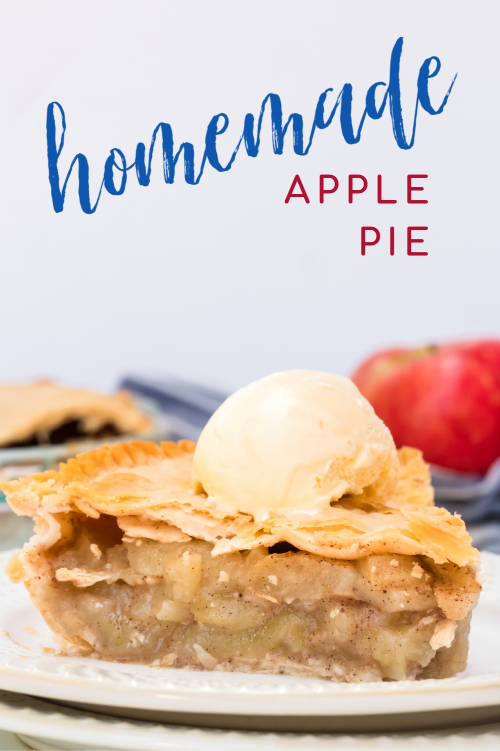 Did you know making a homemade apple pie is actually quit simple? Here is the perfect easy recipe for all your fall, handpicked apples! via @familyfresh