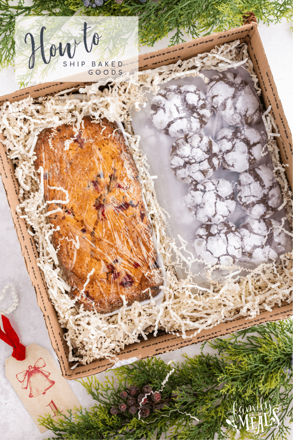 Let me show you how to How to Ship Baked Goods via @familyfresh