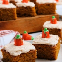 The Best Pumpkin Bars
