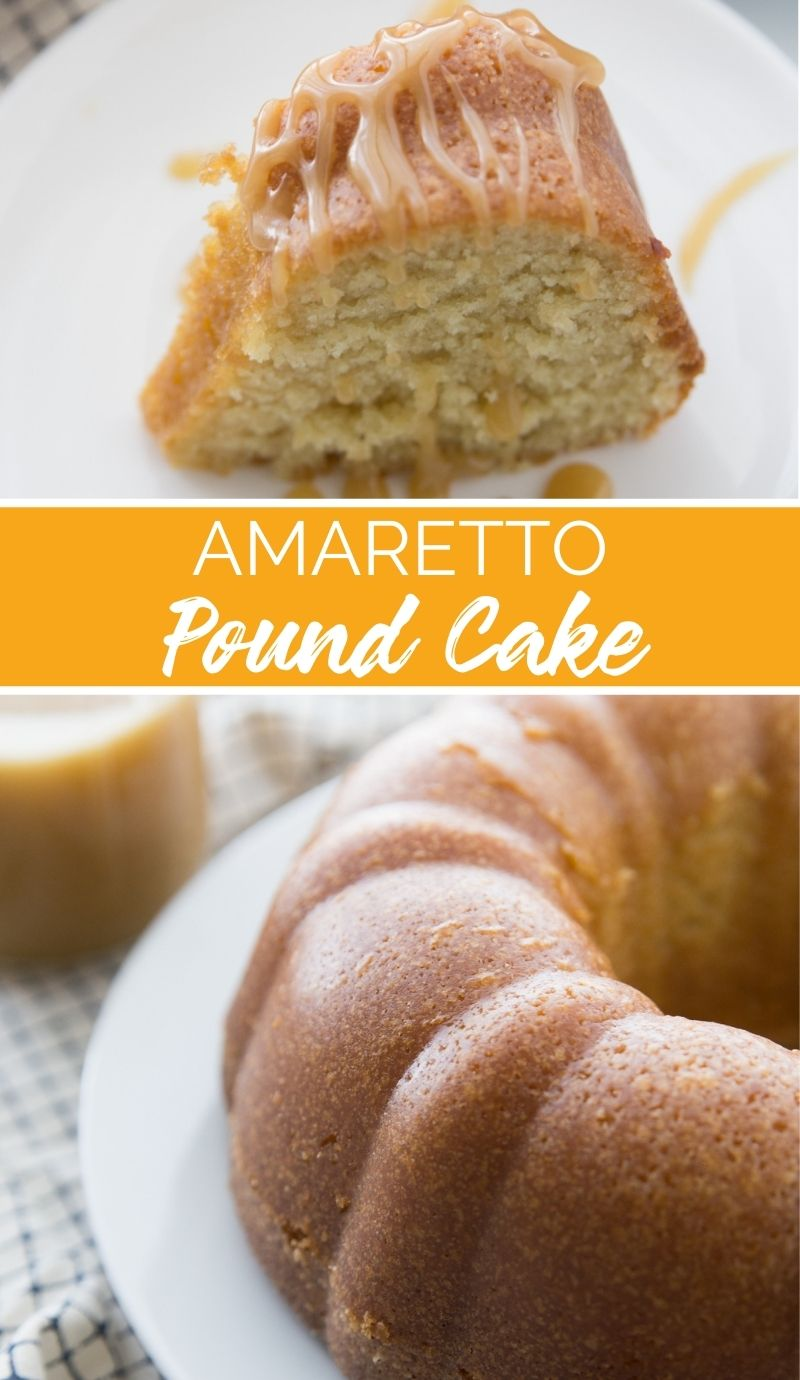 This Amaretto Pound Cake recipes is rich, tender, and bursting with almond flavor, it's everything that a pound cake should be. via @familyfresh