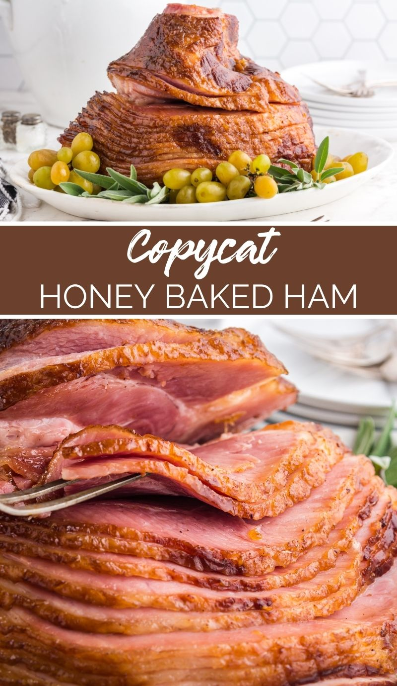 Are you seeking an easy ham recipe that's a treat to the tastebuds and easy on the wallet? This Copycat Honey Baked Ham the recipe for you! via @familyfresh