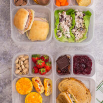 Leftover Thanksgiving Food Lunchbox Ideas