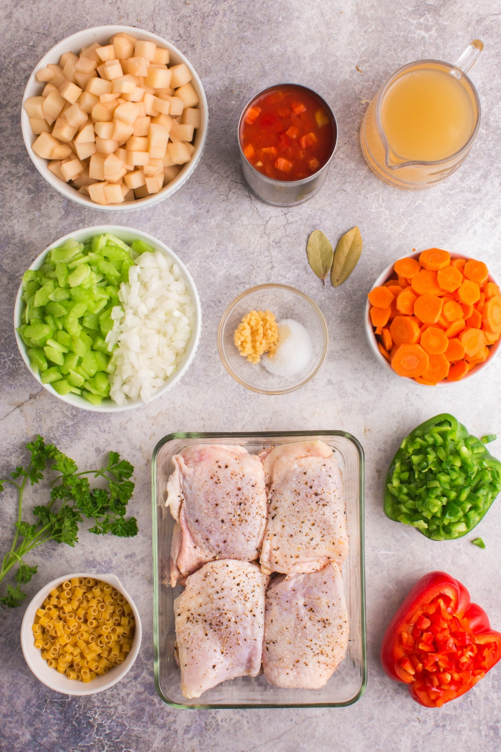 This Sicilian Chicken Noodle Soup combines the comfort of plain old chicken noodle soup with the zest and fun of Italian cooking. via @familyfresh