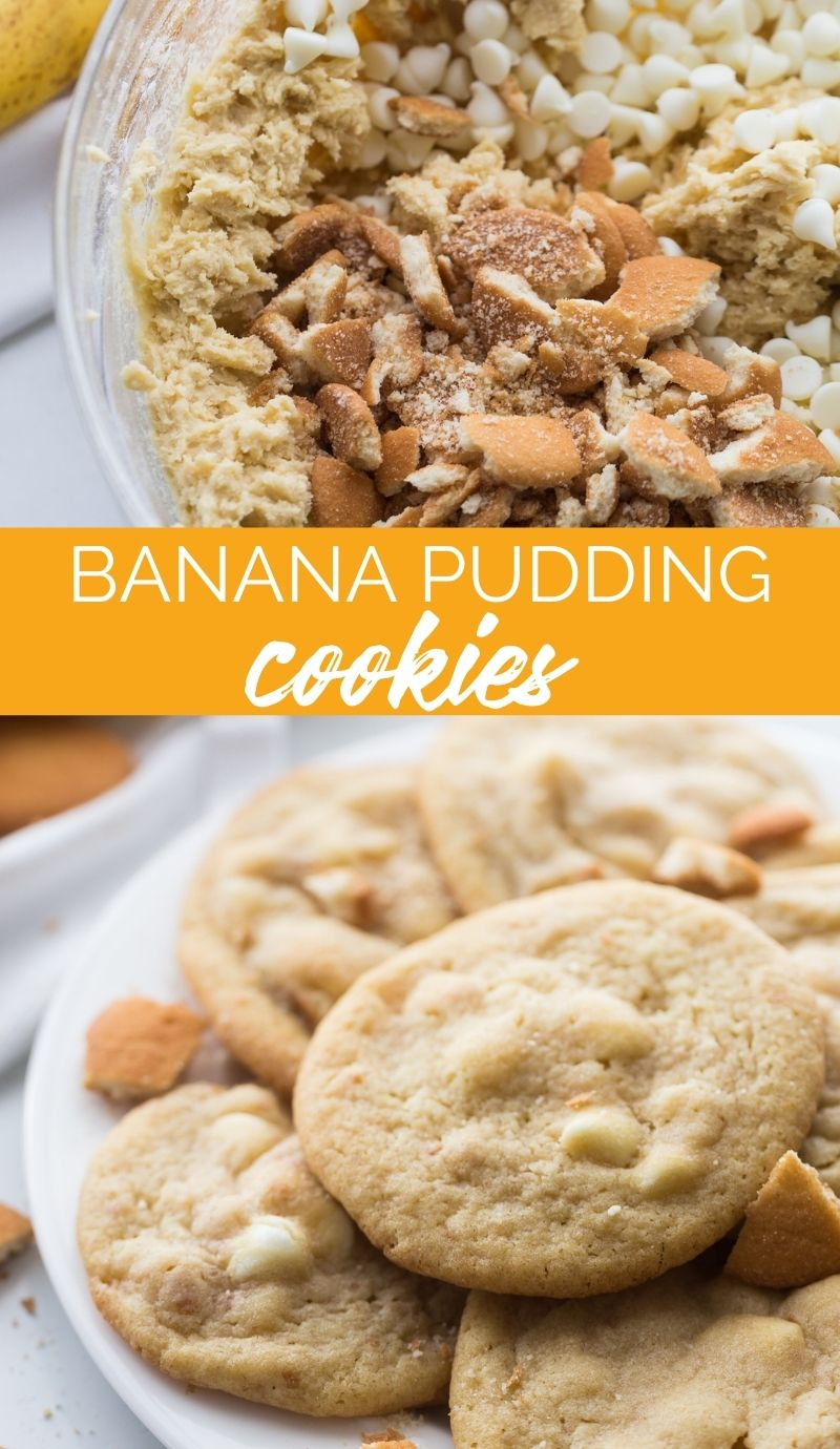 These Banana Pudding Cookies are chewy, crunchy, vanilla-y and banana-y all at the same time. One thing they're definitely not, is ordinary. via @familyfresh