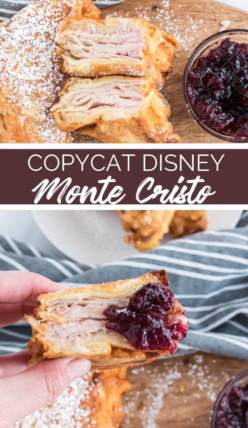 If you've never had one, the Disney Monte Cristo sandwich seems kind of weird. It's like a cross between a club sandwich and French toast. via @familyfresh