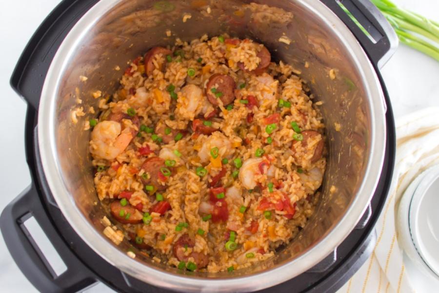 Jambalaya in an instant pot
