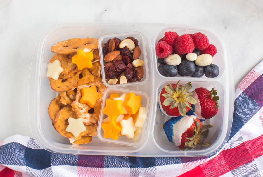 4th of July themed lunchbox