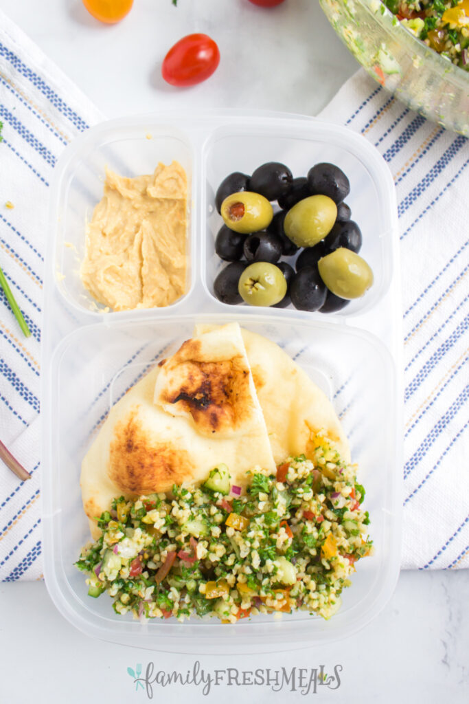 Tabouli Salad is a lunchbox