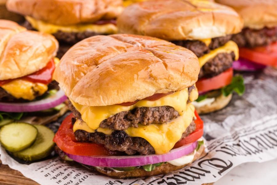 4 Butter Burgers