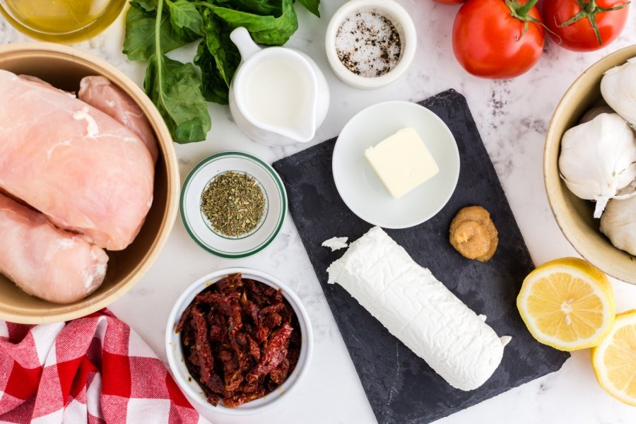 Ingredients for Copycat Carrabbas Chicken Bryan