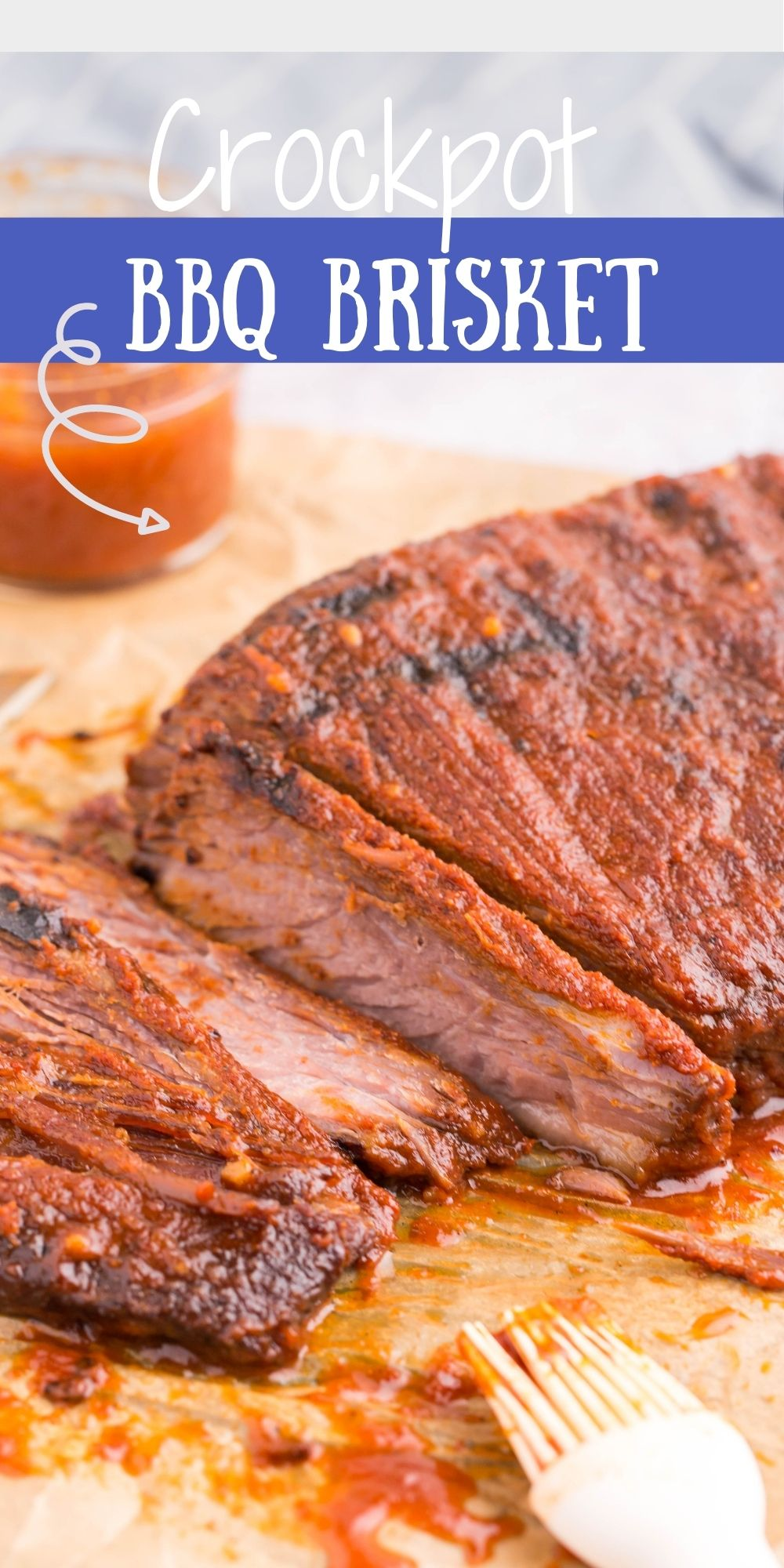 This fork-tender Crockpot BBQ Brisket is a budget-friendly and flavorful cut of beef that is easily paired with most sides of vegetables. via @familyfresh