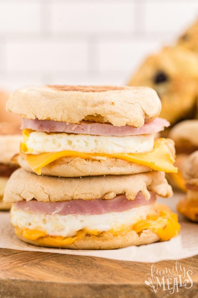 Copycat Egg McMuffins Recipe