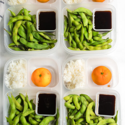 Edamame Easy Lunchbox Idea from Family Fresh Meals