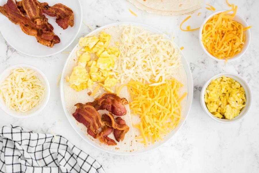 Tik Tok Famous Breakfast Quesadilla