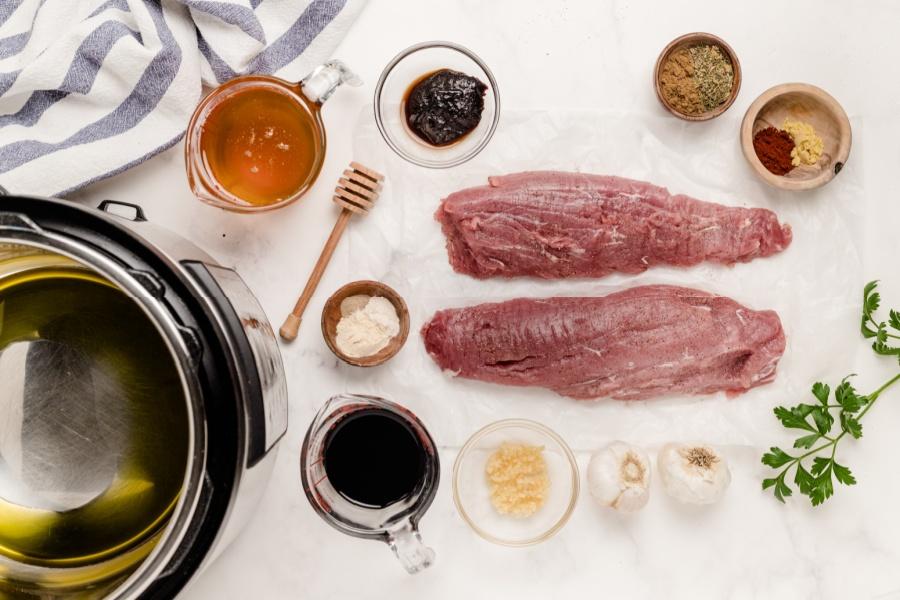 Ingredients for Instant Pot Pork Tenderloin